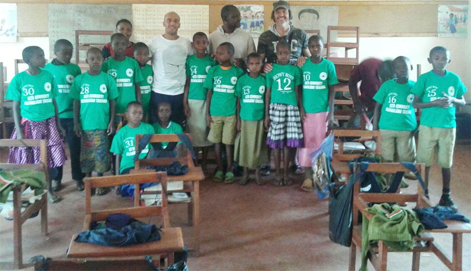 Un cuore bianco-verde batte forte in Tanzania