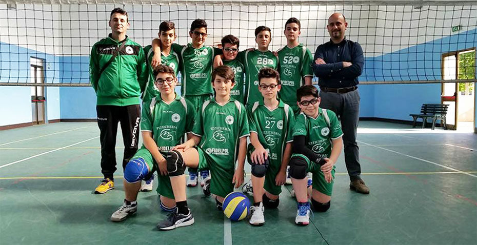 L'Under 13 presente alla Final four pool b
