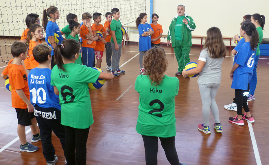 Concluso il progetto sportivo con gli alunni di Neviano e Seclì