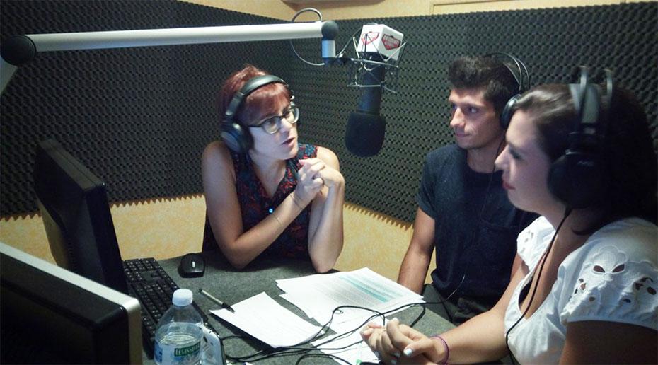 Il laterale Giuseppe Cesari si racconta in radio