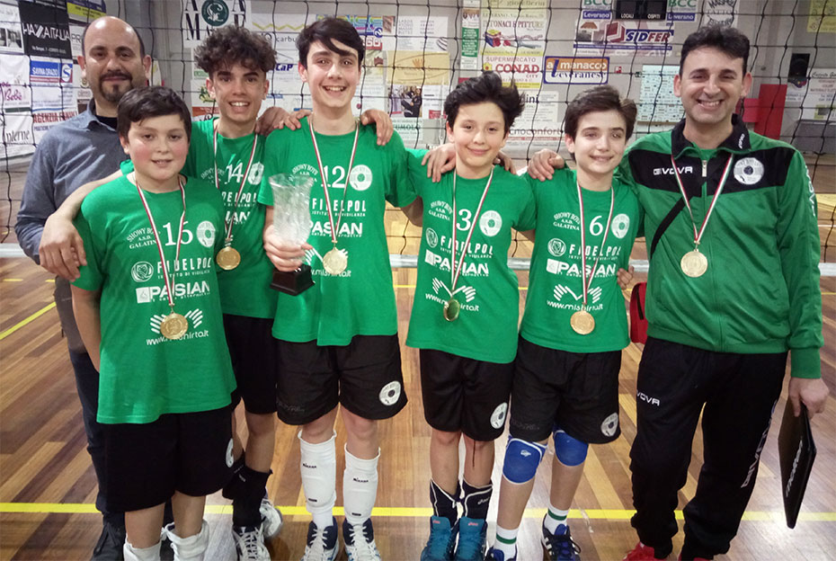 Under 13 3vs3 campione provinciale