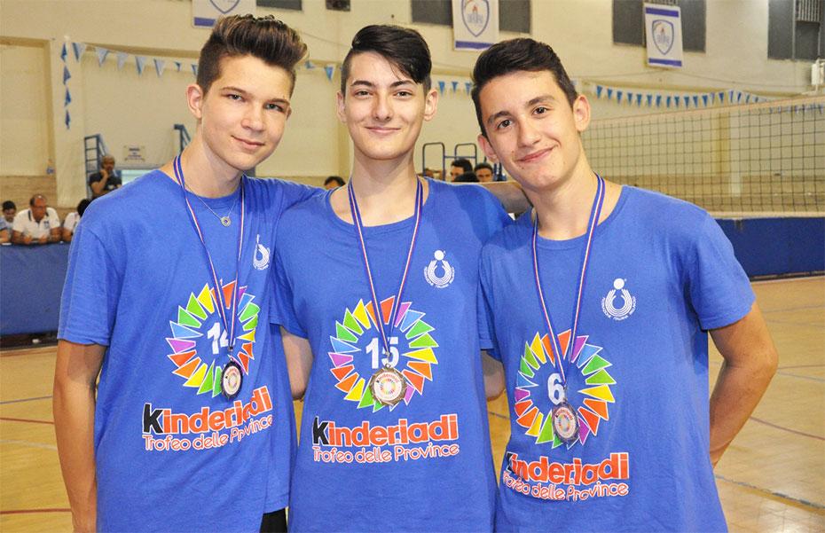 Tre allievi bianco-verdi al Trofeo delle Province