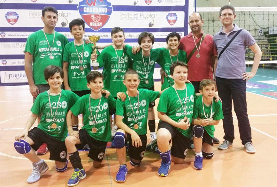 Under 12 campione provinciale