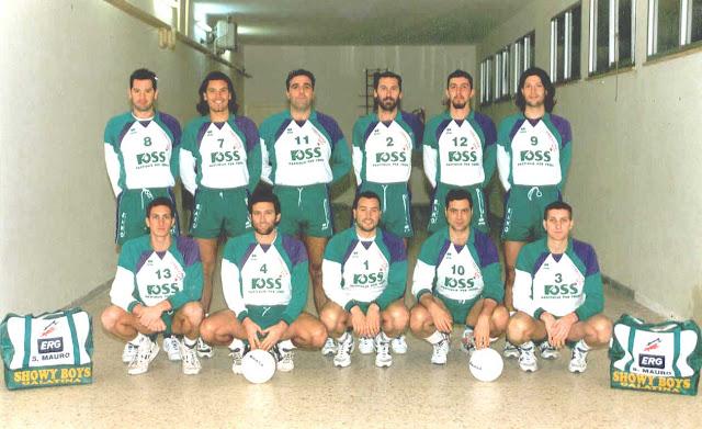 Showy Boys Serie B1 Stagione sportiva 1995-1996
