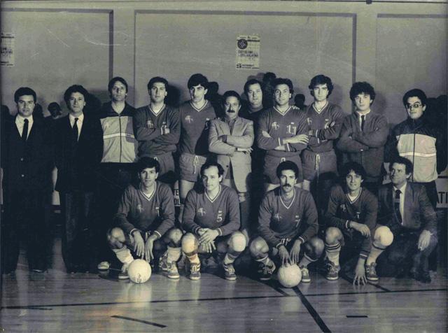 Showy Boys Serie B1 Stagione sportiva 1981-1982