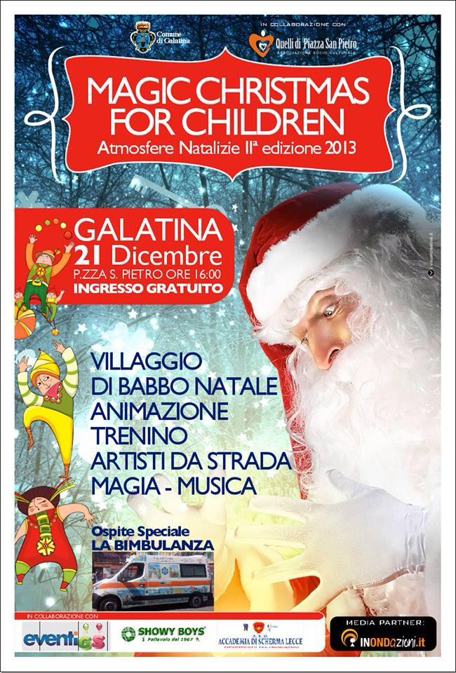 Locandina Magic Christmas