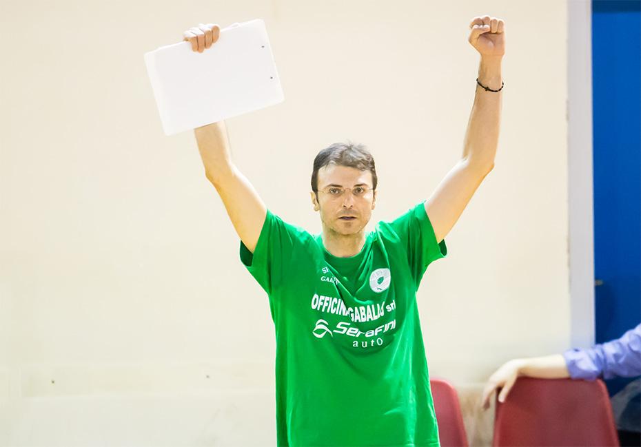 """Gianluca Nuzzo guida del progetto """"Scuola Volley"""""""