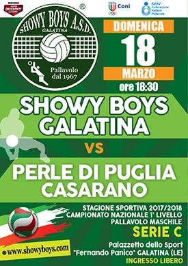 PROSSIMA GARA: SHOWY BOYS-CASARANO