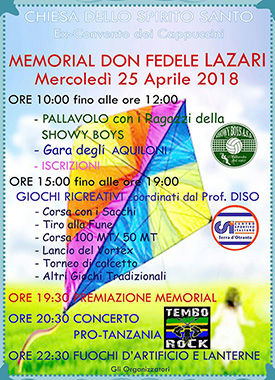 MEMORIAL DON FEDELE LAZARI